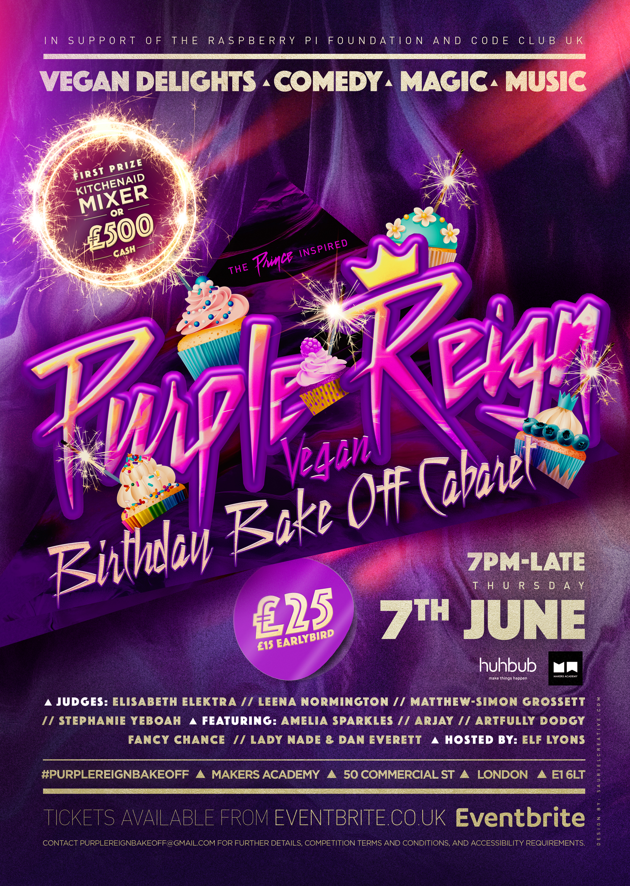 SCD_HUH_001_PURPLE_REIGN_BAKE_OFF_A3(LINEUP)_V4